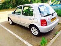 Nissan micra 1.0 12 month mot 12 month tax low miles lady owner £550