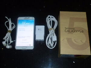 Sale of Samsung Galaxy S5 16GB + 4GB SDCard Kitchener / Waterloo Kitchener Area image 1