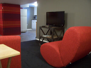 Fully Furnished Suite- Central Location Broadway/ Downtown