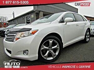 Toyota Venza 4dr Wgn V6 AWD CUIR TOIT ** NOUVEL ARRIVAGE **  201
