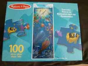 Melissa & Doug Under The Sea 100 Piece Floor Puzzle