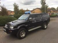 2003 Mitsubishi L200 2.5 TD Warrior Limited Edition 4dr