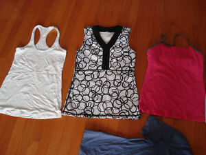 Lululemon tights size 4 and tanks
