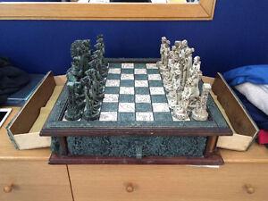 Marble Chess Set For Sale