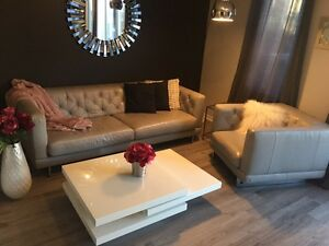 Leather Sofa and Chair for sale London Ontario image 1