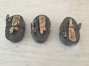 THREE LOGISTIC STRAPS FOR SALE