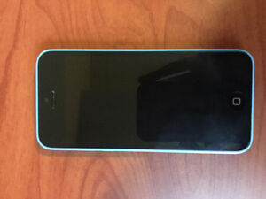 Iphone 5C- BLUE, UNLOCKED,16G, 10/10 CONDITION Kitchener / Waterloo Kitchener Area image 1