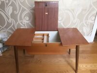 50s/60s sewing table