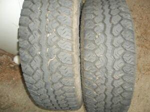 pair of motomaster at2 tires 245 70r17