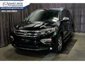 2018 Honda Pilot Touring AWD  - One owner - Accident-Free - $338