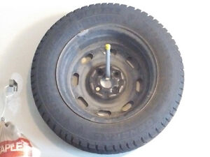 Winter tires on steel rims Kitchener / Waterloo Kitchener Area image 1
