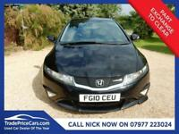 CHEAP CAR - 2010 10 HONDA CIVIC 2.2 I-CTDI TYPE-S GT T 3D 138 BHP DIESEL