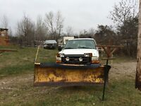 1999 Ford F-250 Pickup Truck,with plow