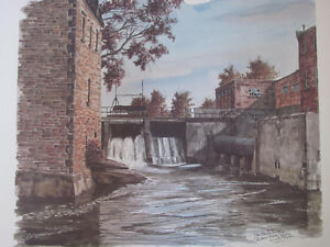 THE RIDEAU CANAL STORY PRINTS Cornwall Ontario image 6