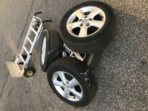 Tires and rims  195/65/15