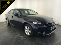 2014 LEXUS IS 300H SE HYBRID SALOON AUTO 1 OWNER SERVICE HISTORY FINANCE PX