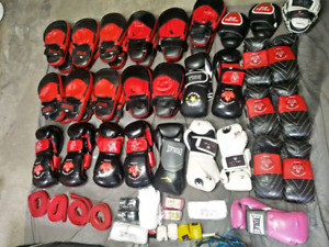 Boxing bootcamp fitness equipment