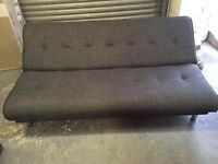 Grey sofa bed new in box
