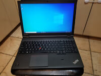 Excellent Lenovo Thinkpad T540P 500GB, 8 GB RAM Win10 * MUST SEE