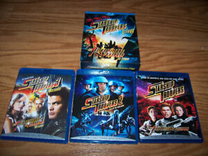 starship troopers1,2,3  coffret blu-ray version francaise