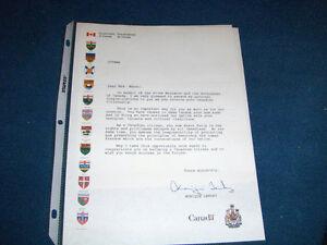 CANADIAN CITIZENSHIP CERTIFICATE & LETTER SIGNED-MONIQUE LANDRY