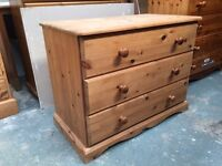 Child's chest of drawers solid pine local delivery