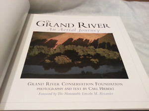 The Grand River. Book signed copy