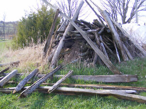 Split Rail Fencing Kawartha Lakes Peterborough Area image 1