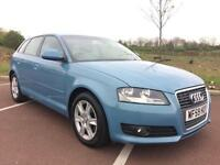 2010 Audi A3 1.6TDI SE Sportback FSH inc NEW TIMING BELT & Service Full MOT
