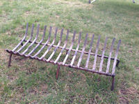 "Fireplace 27"" log grate"