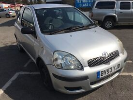 Toyota Yaris t3 1.3 petrol with 1 year mot