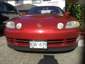 1992 Lexus SC400 with Collectors plates