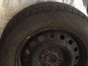 """Winter Tires and Rims for Honda Civic 195 65 R 15"