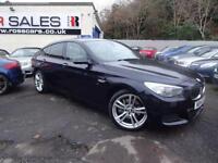 2014 14 BMW 5 SERIES 3.0 530D M SPORT GRAN TURISMO 5D AUTO 255 BHP DIESEL