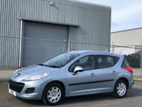 2010 60 Peugeot 207 SW 1.6HDi 92 ( a/c ) Estate FAP S - ONLY 62,000 MILES