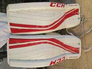 CCM premier pro goalie set