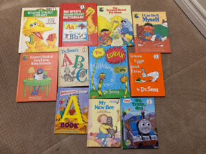 Dr Seuss and other vintage children's books $5 each