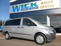 2015 Mercedes-Benz VITO 116 CDI SWB LONG DUALINER *F/S/H* Manual Crew Van
