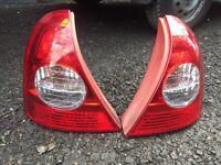 Renault Clio MK2 rear lights
