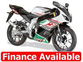 50cc Sportsbike with Yamaha-Menarelli AM6 Motor Rieju RS3 50 LC PRO