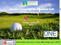 Taking Off The Blindfold Golf Tournament