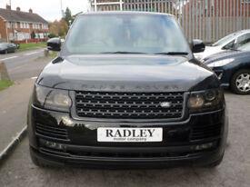 2015 Land Rover Range Rover 3.0TD V6 258bhp 4X4 s/s Auto 5DR 15REG 5DR Black