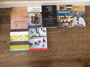 Commerce, Philosophy, and Sociology Textbooks for Sale