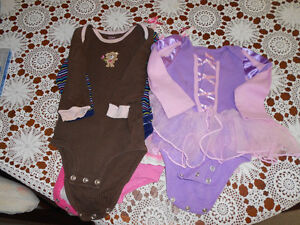 large bag of girl clothes, size 6-12 mos.  40 items