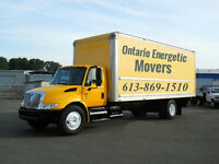 "Energetic Movers, Ottawa, Cheapest price GUARANTEE""613-869-1510"