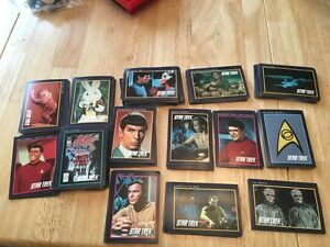 Old Star Trek collectable cards