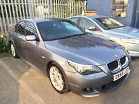 BMW 5 SERIES 2.0 520D M SPORT BUSINESS EDITION 6 SPEED SAT NAV FULL LEATHER 2010 / 1 OWNER / FSH