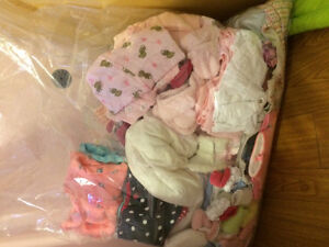 New born and 0-3 month girl cloths