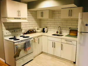 1 bdrm + office partially furnished basement apartment in Whitby