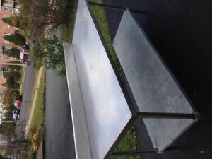 Stanlee steel table
